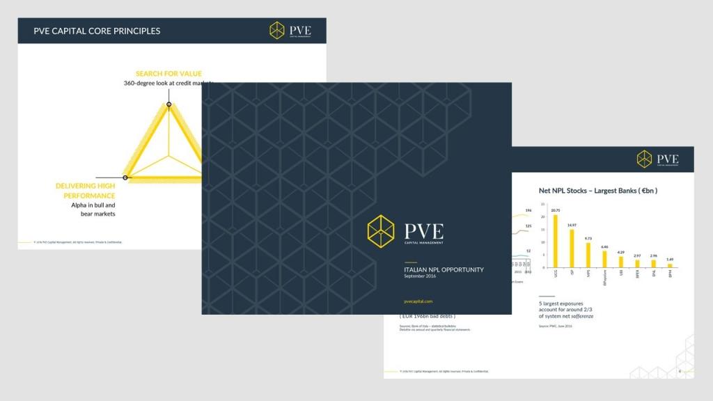 PVE powerpoint presentation design