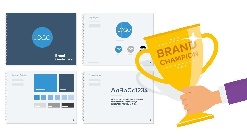 brand guidelines ensure consistency