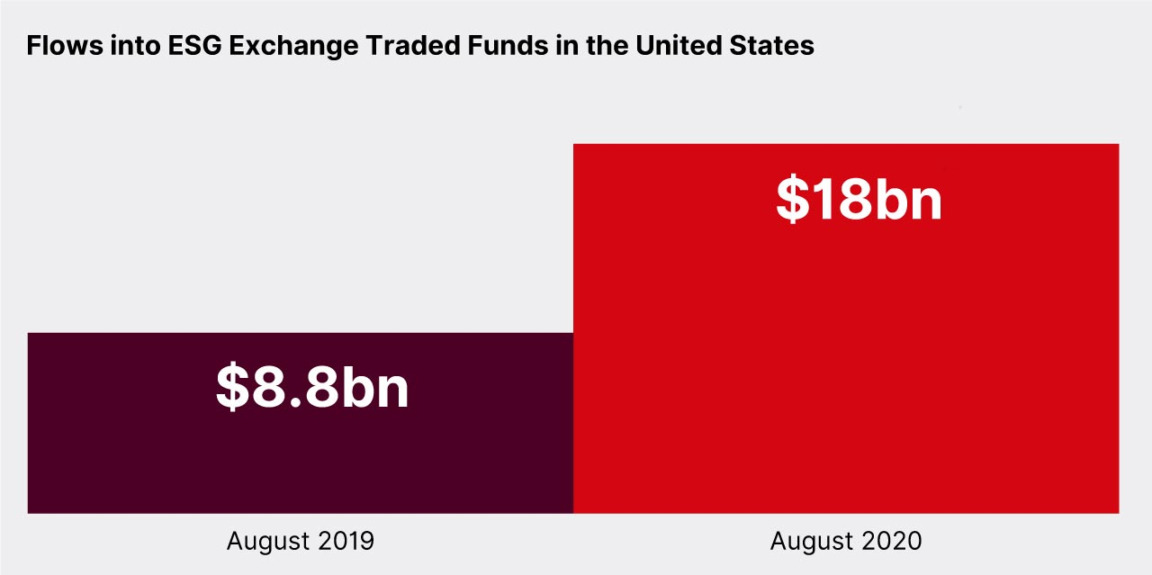 ESG Exchange Traded Funds in USA