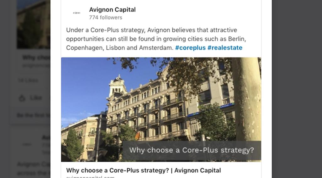 Avignon LinkedIn Sponsored Content Case Study
