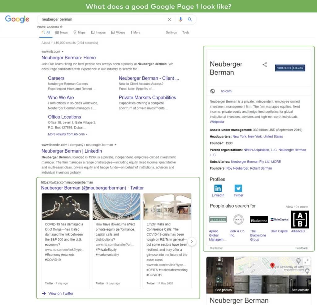 Good Google Page 1