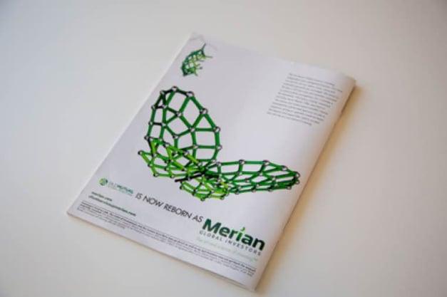 merian print ad example