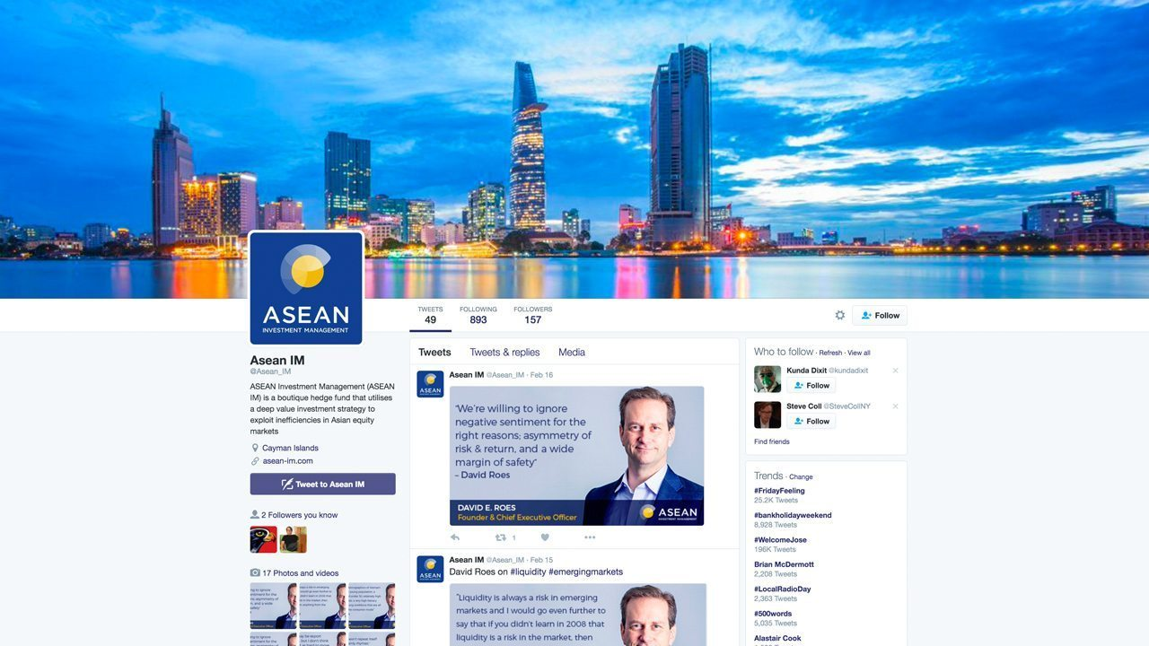 Cover image for post: ASEAN IM - Social Media Strategy and Engagement