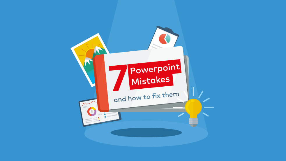 Cover image for post: 7 Common Powerpoint Presentations Design Mistakes and How to Fix Them