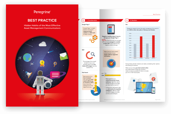Best Practice Report cover, by Peregrine Communications