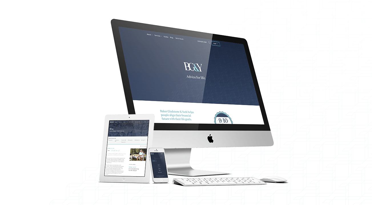 BG&Y website case study