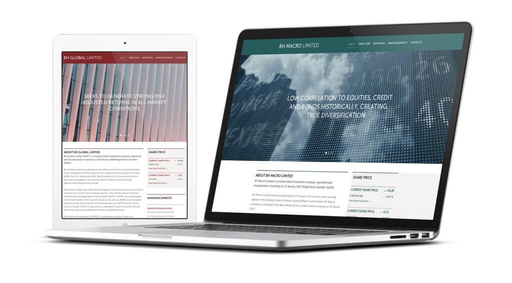 Brevan Howard - Marketing & Communications website responsive