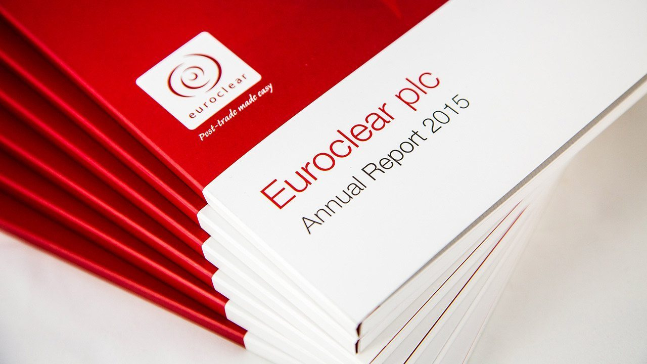 Euroclear - Annual report cover