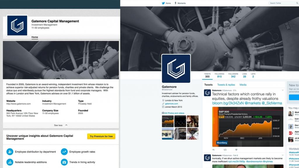 Gatemore Social Media platforms