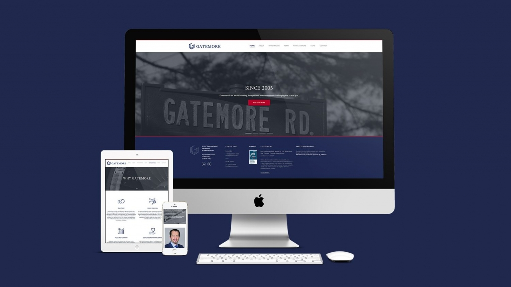 Cover image for post: Gatemore - Rebrand & Website