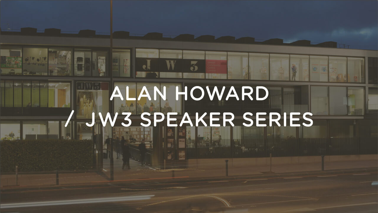 Cover image for post: AH / JW3 Speaker Series