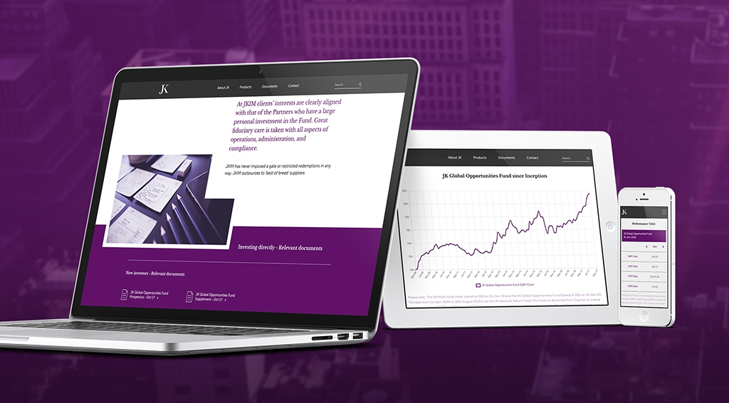 JK Investment Management Website