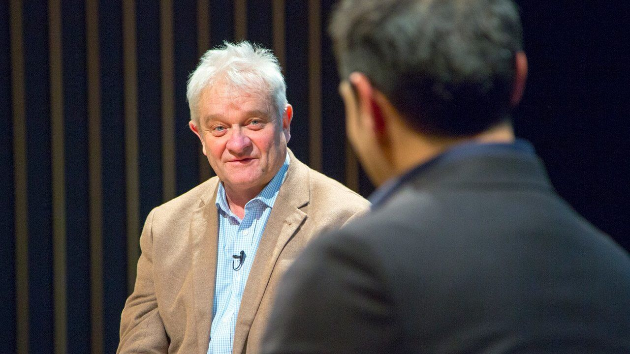 The Alan Howard Foundation / JW3 Speaker Series Sir Paul Nurse Dr Adam Rutherford