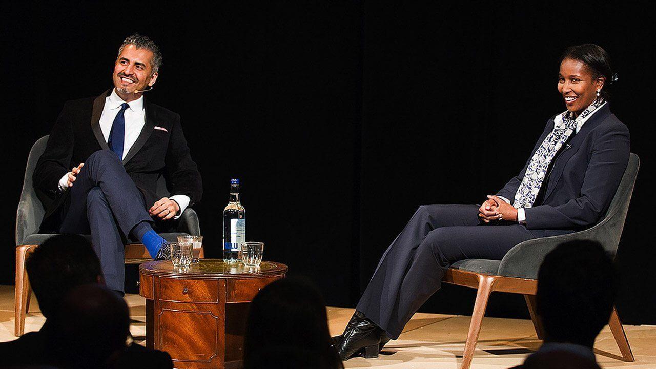 The Alan Howard Foundation / JW3 Speaker Series Ayaan Hirsi Ali Maajid Nawaz