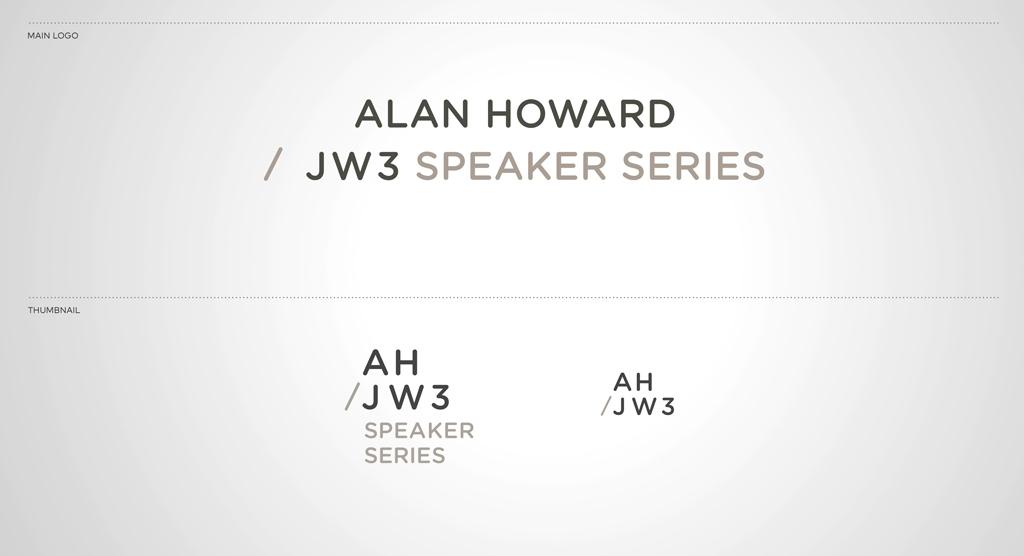Alan Howard / JW3 Speaker Series - IMC Case Study Branding