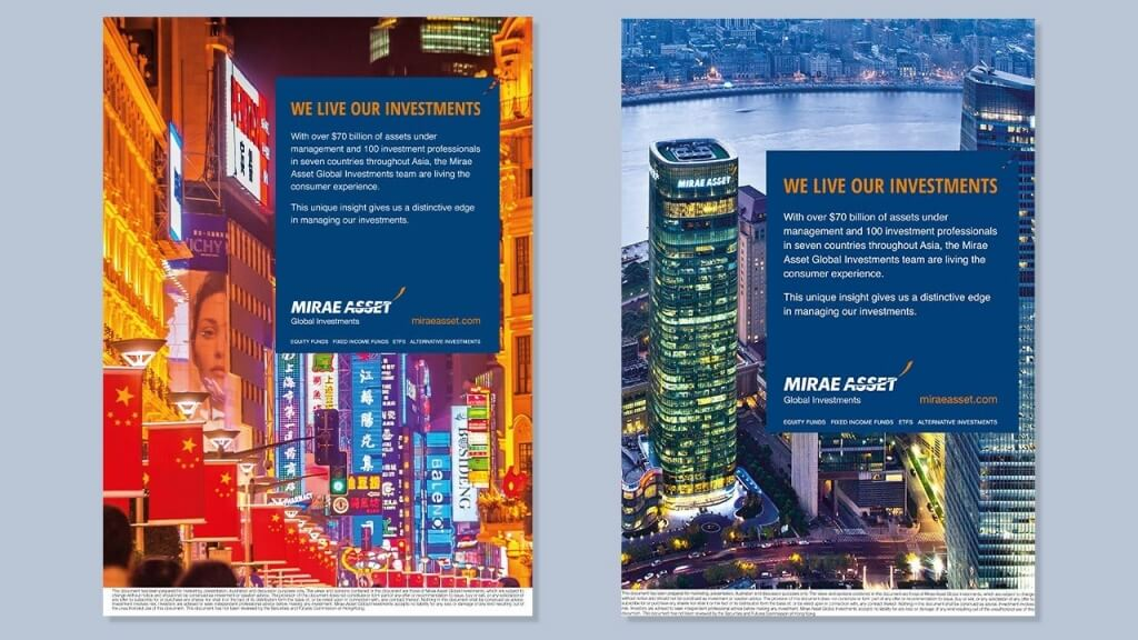 Mirae Asset Global Investment campaign