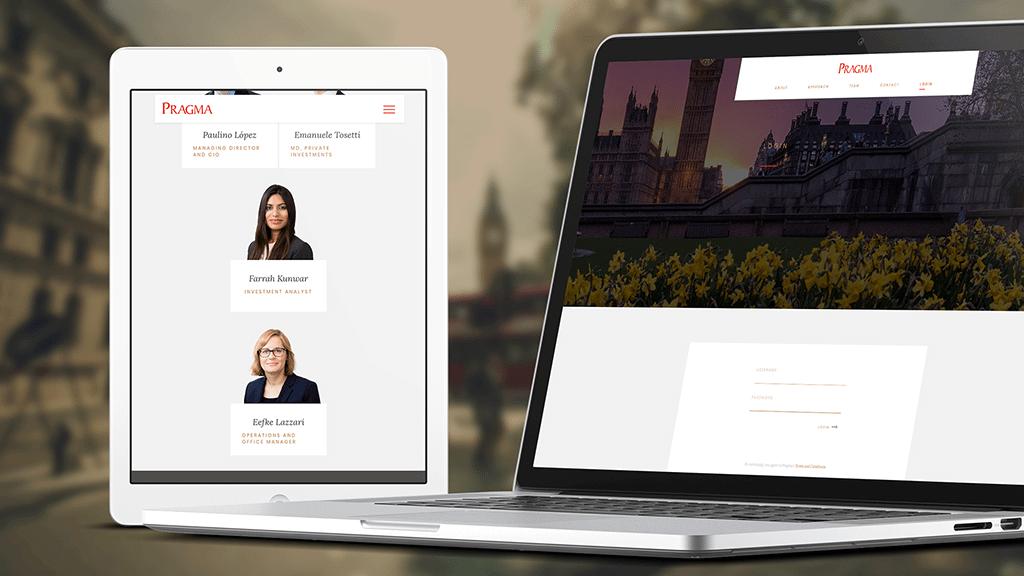 Pragma Wealth Management Website