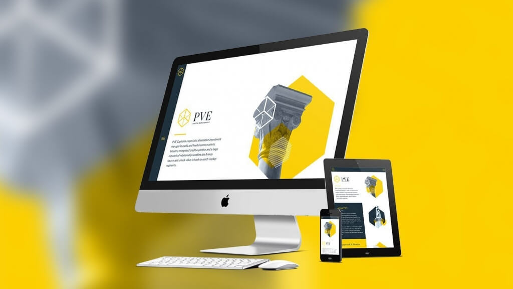 PVE Capital - Rebrand & Website