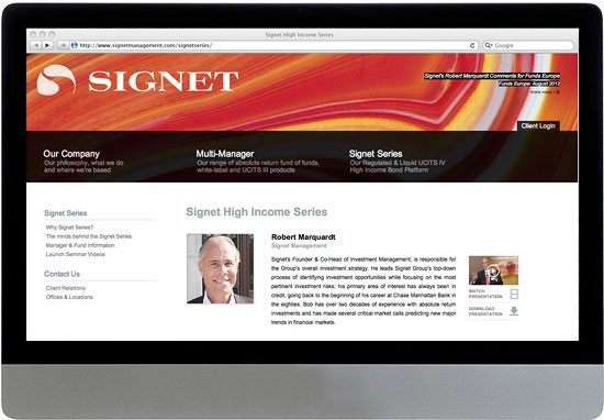 Signet Website 1