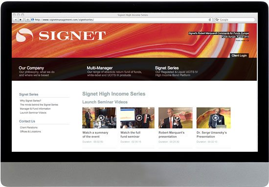 Signet Website 2
