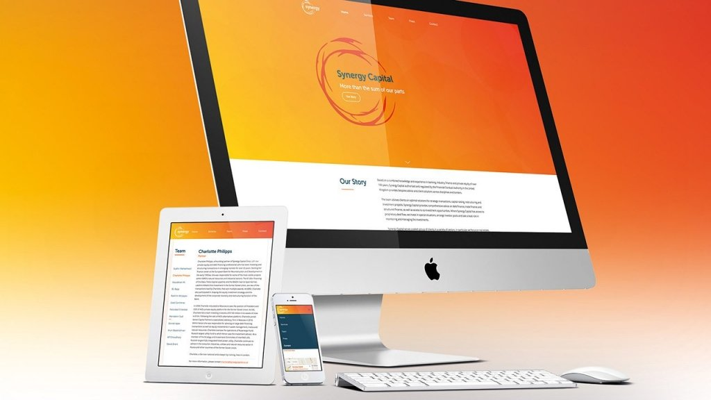 Cover image for post: Synergy Capital – Website Development