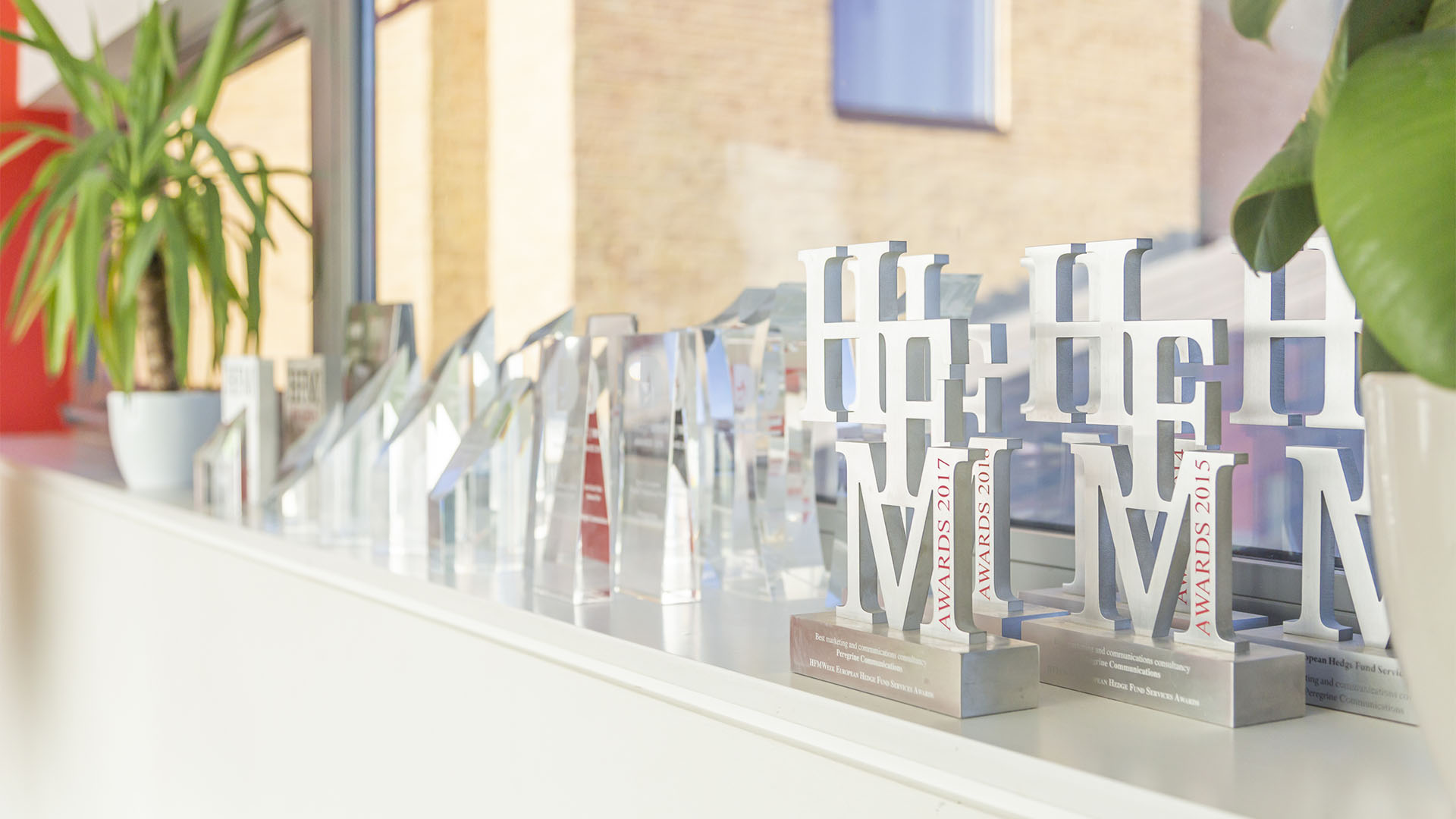 Multiple awards earned by Peregrine Communications