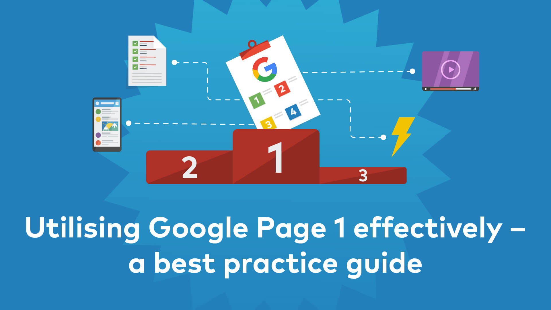 Cover image for post: Best Practice Guide to Improving Google Page 1