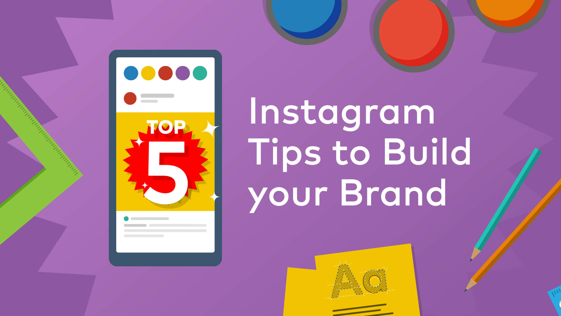instagram tips to build your brand banner