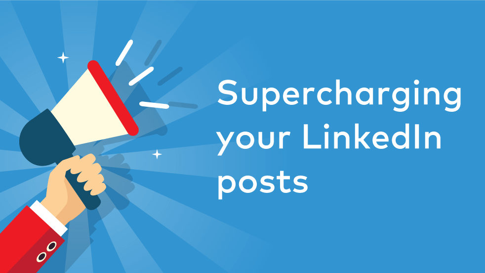 Cover image for post: How To Use Linkedin Sponsored Content to Supercharge Your Posts