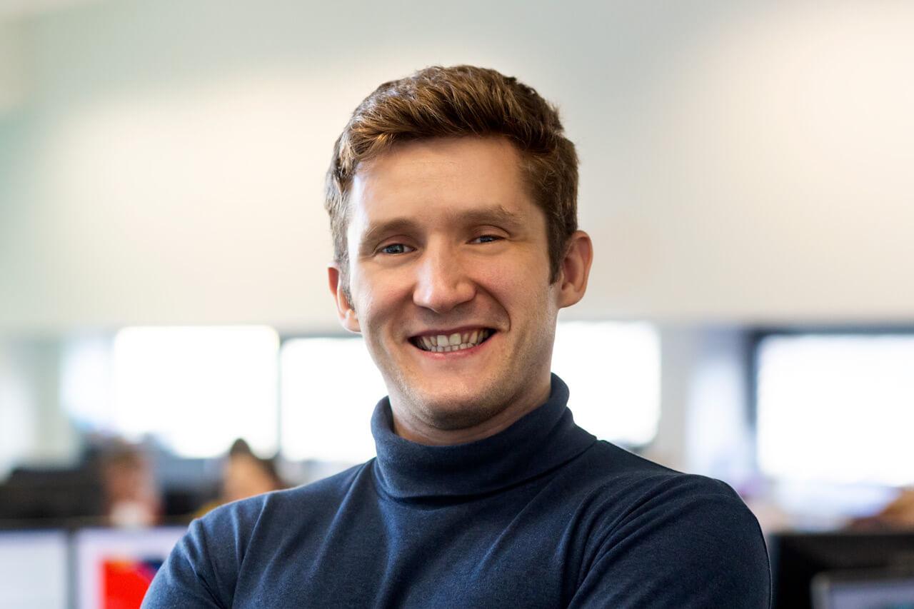 Image of Dimitry Volos, Vice President, Senior Web Developer at Peregrine Communications