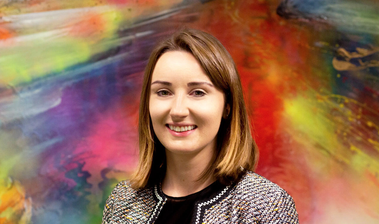 Image of Hannah Beard, Associate Vice President at Peregrine Communications