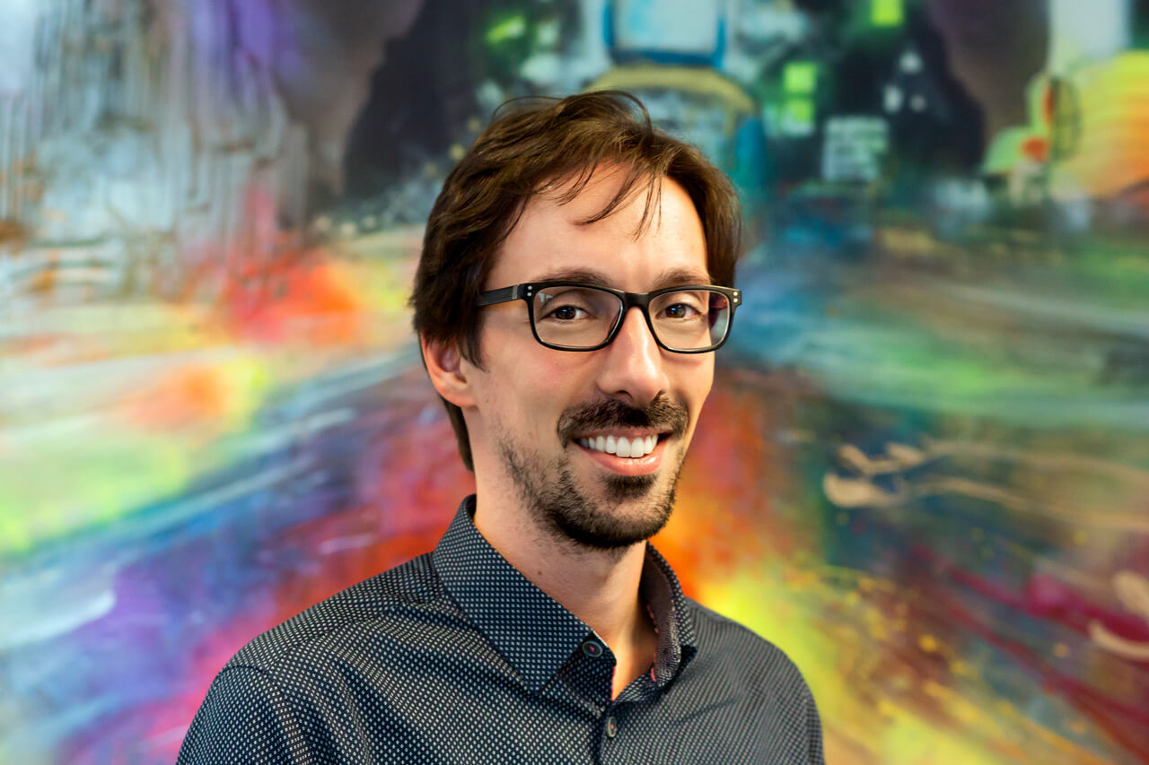 Image of Luis Rodrigues, Art Director at Peregrine Communications