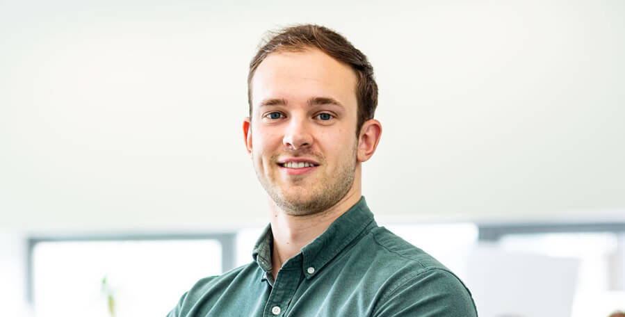 Image of Michael Gregory, Junior Developer at Peregrine Communications
