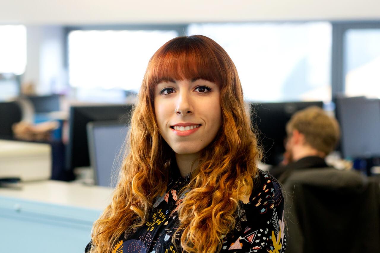 Image of Sara Martinez, Senior Designer at Peregrine Communications
