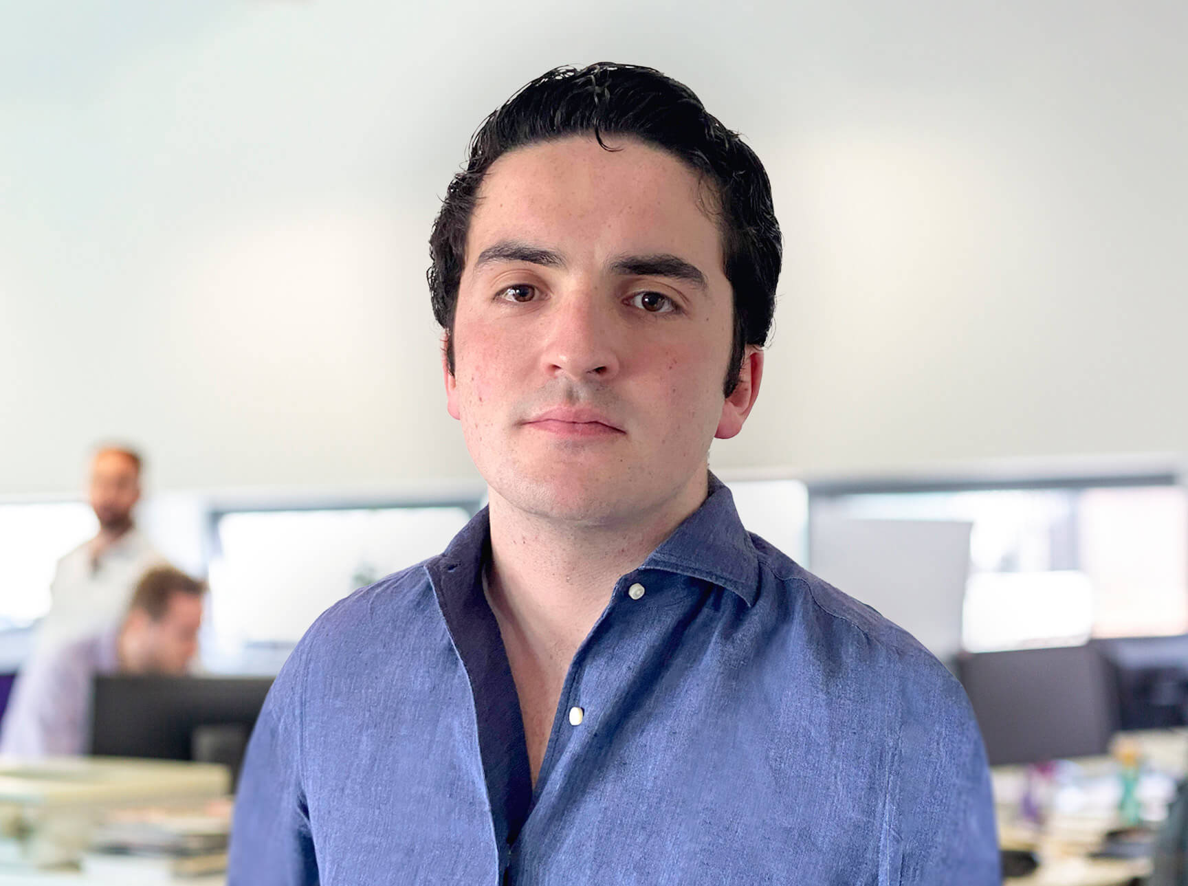Image of Louis Hilton, Account Executive at Peregrine Communications