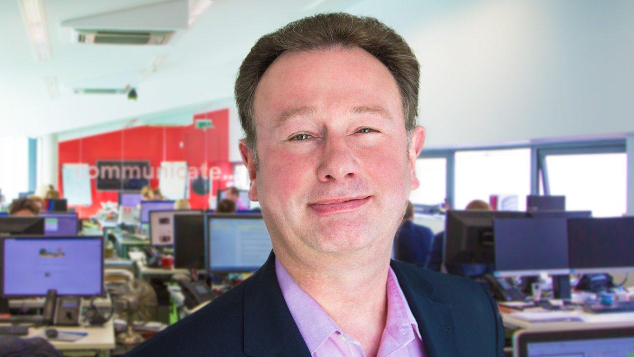 Image of Graham Golding, CFO at Peregrine Communications